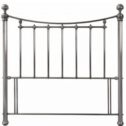Isabelle Antique Nickel Double Headboard
